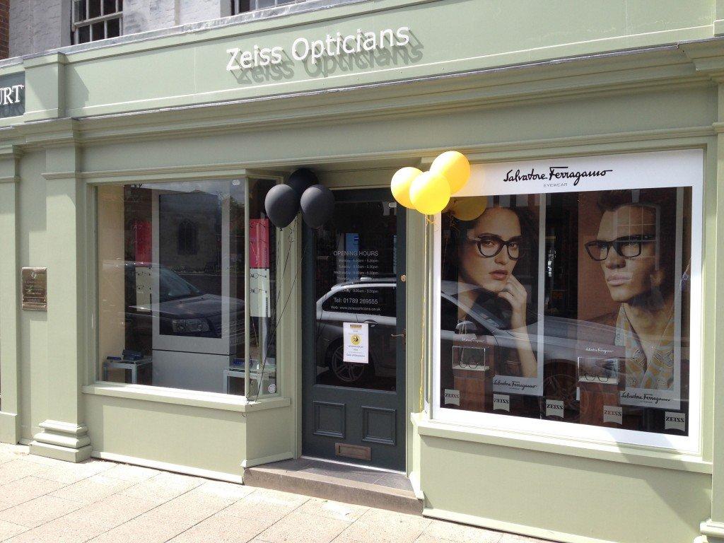 Zeiss Opticians Shop Front