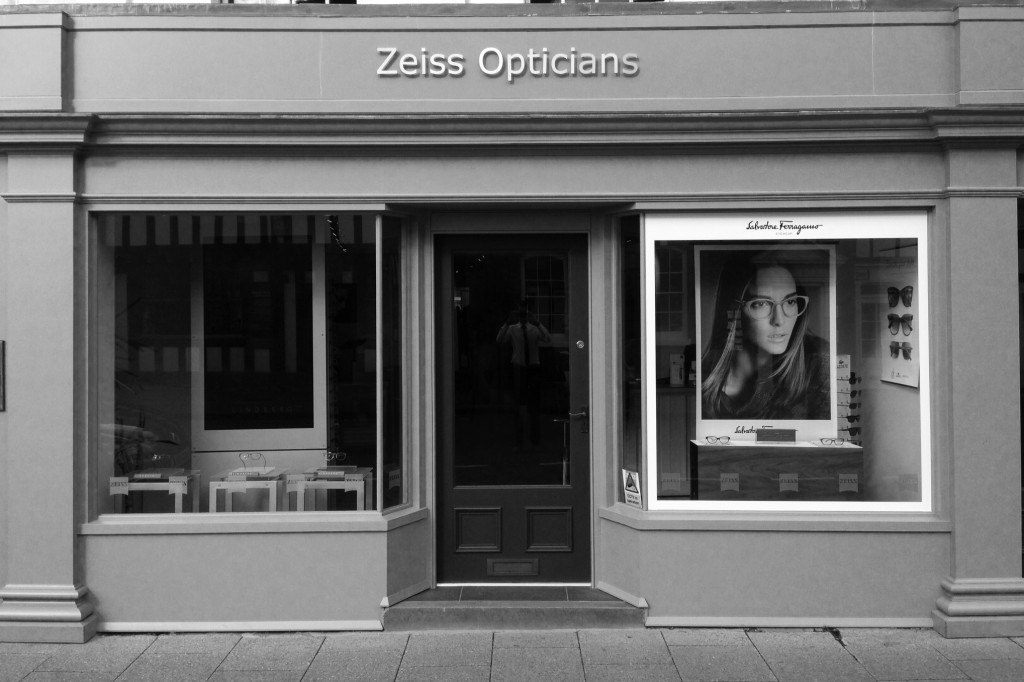 Zeiss Opticians Shop front