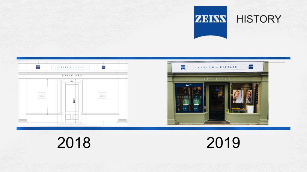 zeiss opticians history